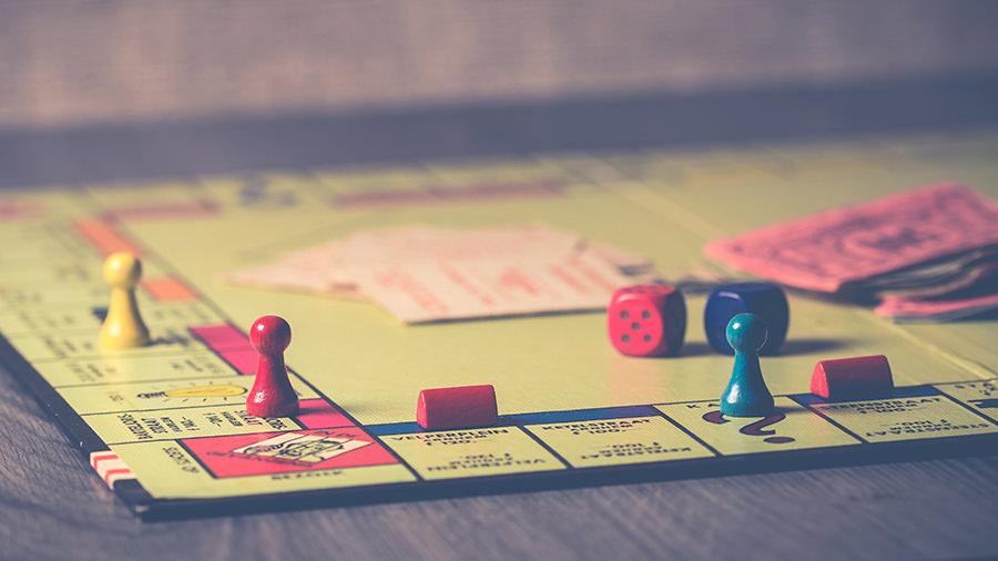 Monopoly borad game