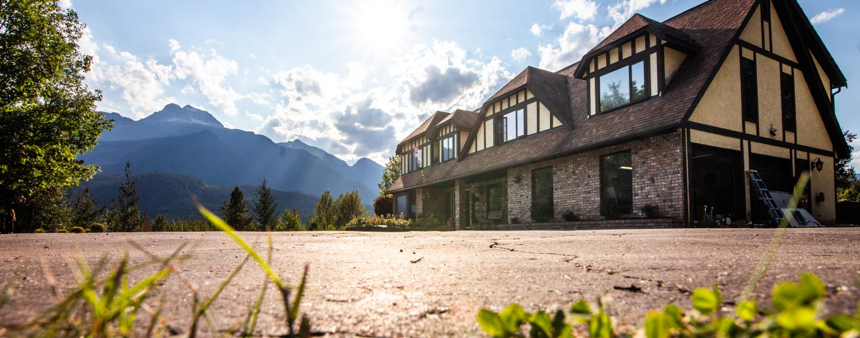 Begbie View Retreat; Breathtaking Scenery and Luxury Property